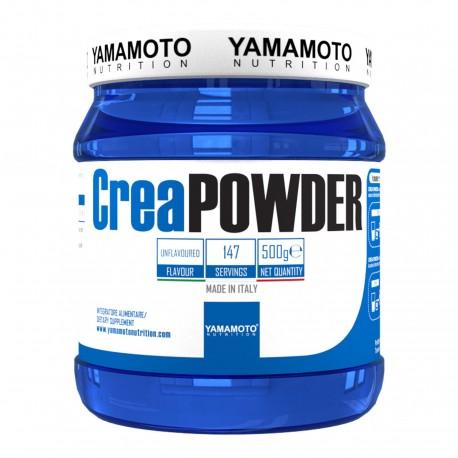 YAMAMOTO NUTRITION Crea POWDER Creapure® Quality 500 grammes